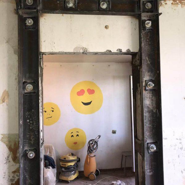 Дверной проем с усилением в Томске